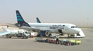Afriqiyah Airways - Afriqiyah Airways Airbus A320-200 wearing the current livery