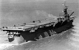Aft view of USS Princeton (CV-23) underway on 28 March 1943 (19-N-42904).jpg