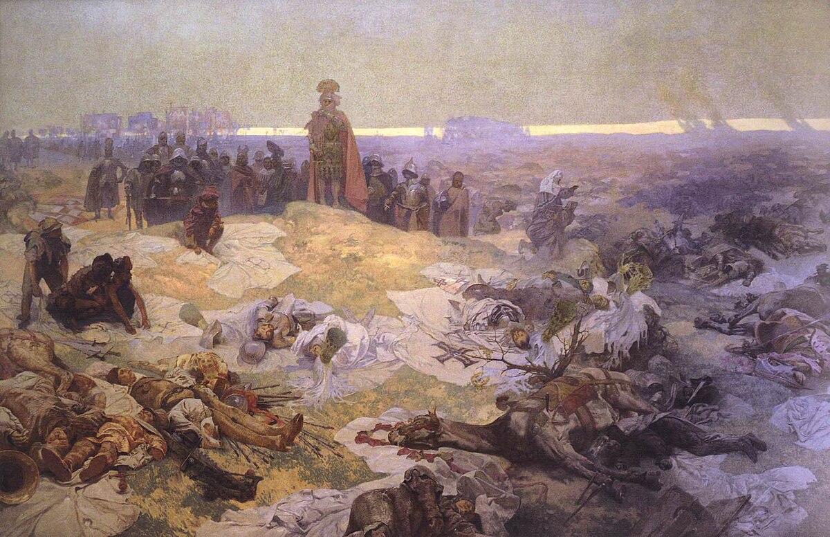 After the Battle of Grunwald - Alfons Mucha.jpg