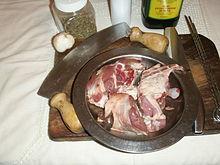 Agnello spiedini: panoramica ingredienti