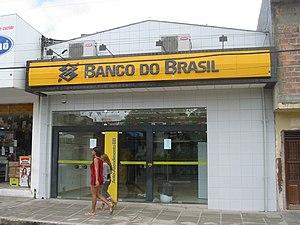 Agrestina (Pernambuco), Brasil. Banco do Brasi...