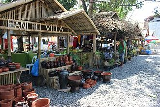 Sogod, Southern Leyte - The annual Sogod Founding Day Celebration Agro-Fair held every June 10, display and sell some of the town's agricultural produce including pottery which is one of its active local enterprises.