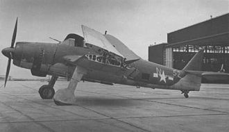 "Aichi B7A - Captured Aichi B7A ""Grace""."