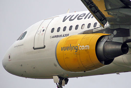 Airbus A320-214 - Vueling Airlines EC-JFF (6906964292)