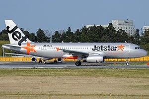 Jetstar Japan - A Jetstar Japan Airbus A320