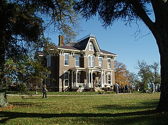 National Register of Historic Places listings in Bourbon County, Kentucky - Image: Airy Castle 20131020
