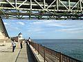 Akashi Strait Bridge in Hyogo Prefectural Maiko Park 20150920.JPG