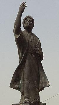 Al-Mutanabbi Statue in Baghdad(Cropped).jpg