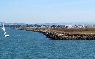 Alameda Mole Transportation facility in Alameda, California