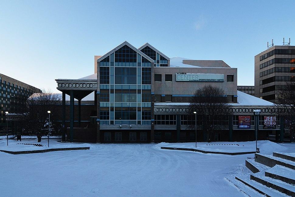 Alaska Center for the Performing Arts. Anchorage, Alaska