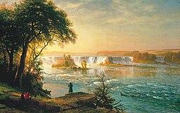 Albert Bierstadt - The Falls of St. Anthony