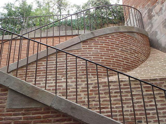 L'escalier de Veyre