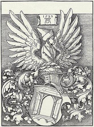 Burgher arms - Canting arms of Albrecht Dürer