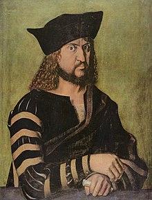 Friedrich der Weise um 1500; Porträt von Albrecht Dürer (Quelle: Wikimedia)