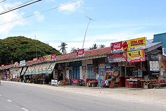 Alburquerque, Bohol - Roadside sari-sari stores in Alburquerque