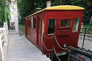 Aleksotas Funicular Railway - Image: Aleksotas, Kaunas, Lithuania panoramio (5)