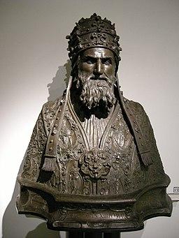 Alessandro menganti, busto di grego-rio xiii boncompagni, inv. 1559, 02