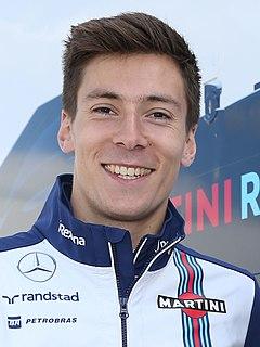 Alex Lynn British racing driver