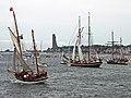 Alexa und Zuiderzee IMO 9097264 S Kiel 27-06-2009.jpg