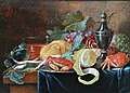 Alexander Coosemans - Still life on a partly draped table.jpg