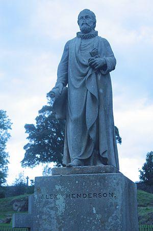 Alexander Henderson (theologian) - Alexander Henderson by Alexander Handyside Ritchie, Valley Cemetery, Stirling