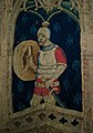 Alexander the Great or Hector of Troy (detail), tapestry, France or South Lowlands, 1400-1410 (5453445613).jpg