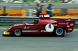 1974 World Sportscar Championship - Alfa Romeo placed fourth with its 33TT12s