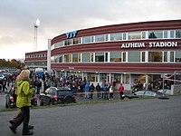 Alfheim stadion facade.JPG