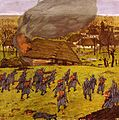 Alfred Basel - Erstürmung des Dorfes.jpg