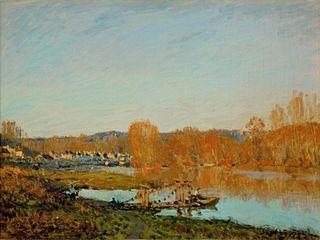 Autumn: Banks of the Seine near Bougival