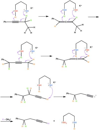 alkyne zipper reaction wikipedia