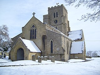 Church of All Saints, Cuddesdon Church in Oxfordshire, England