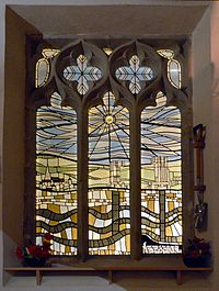 Colliery memorial window
