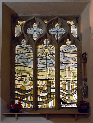 Cotgrave - Colliery memorial window