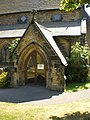 All Saints Parish Church, Halifax, Porch - geograph.org.uk - 1391549.jpg