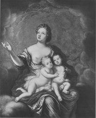 Allegori över Karl Gustav och Fredrik prinsar av Sverige