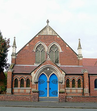 Alrewas - Alrewas Methodist church