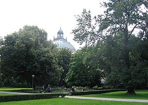 Alter Botanischer Garten (Munich) - Image: Alter Botanischer Garten Muenchen 1