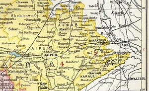 Alwar State - Alwar State in The Imperial Gazetteer of India