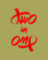 Ambigram Two in One (color version).png