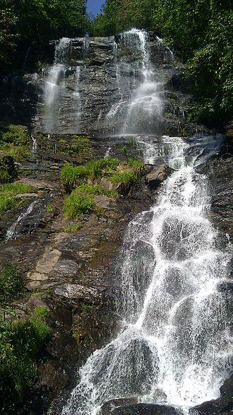 Amicalola Falls - Image: Amicalola Falls Main Dawsonville GA 01