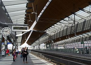 Amsterdam Bijlmer ArenA station - View from Metro Platform