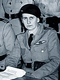 Mary Bell at a council meeting of the Women's Air Training Corps, 1941