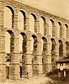 An aqueduct (Segovia?). Photograph by C. Clifford. Wellcome V0020191.jpg