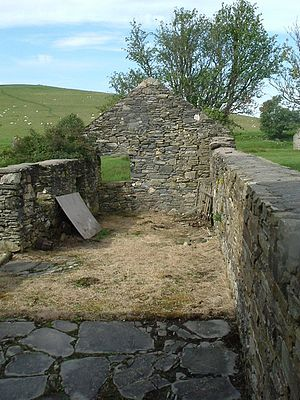 Scalan - Image: An outbuilding at Scalan geograph.org.uk 259133
