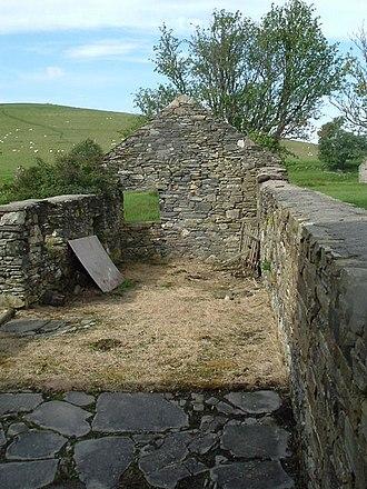 Scalan - Image: An outbuilding at Scalan geograph.org.uk 259133