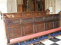 Ancient pews within St Sepulchre, Holborn Viaduct - geograph.org.uk - 1806279.jpg
