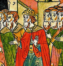 Andreas Palaiologos in a 16th-century Russian chronicle