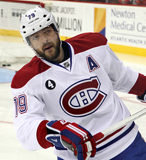 Andrei Markov (ice hockey) Russian-Canadian ice hockey player