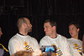 Andrew Ference and Tuukka Rask at Cuts for a Cause.jpg